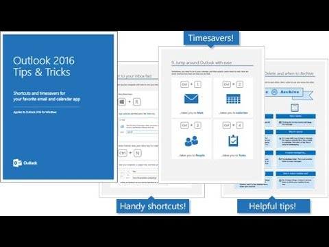 Microsoft Outlook 2016 Tutorial | Basics ,Tricks And Tips
