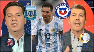 ANÁLISIS Argentina empató con Chile en la Copa América. GOLAZO de Lionel Messi   Fuera de Juego