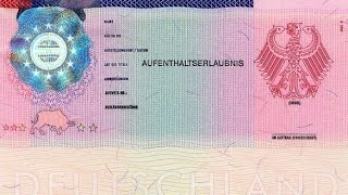 видео Получение ВНЖ в Германии