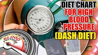 Indian Diet Plan For High Blood Pressure | DASH diet chart | ब्लड प्रेशर डाइट