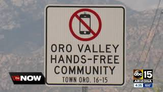 Local Arizona governments passing ordinances on hands-free driving