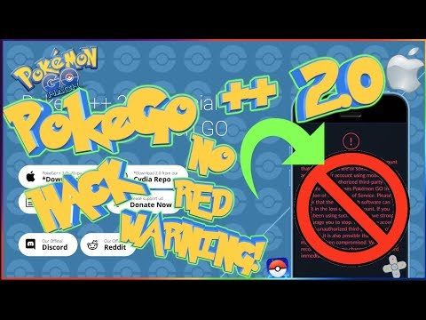 PokeGo ++ 2.0 Hack NO RED WARNING! IOS Only (2018)