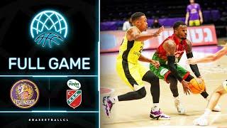 Hapoel Unet-Credit Holon V Pinar Karsiyaka - Full Game   Basketball Champions League 2020/21