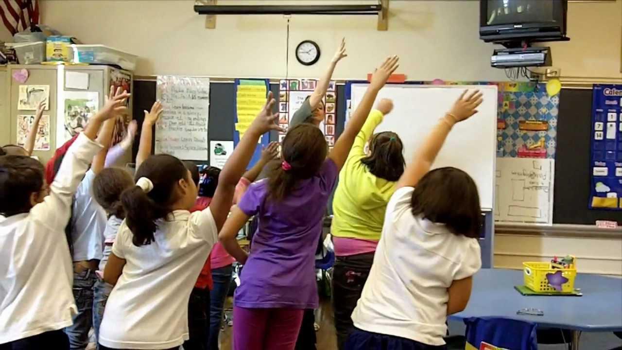 Youtube Chair Yoga Blue Parson Covers Classroom (classroom Physical Activity Breaks) -