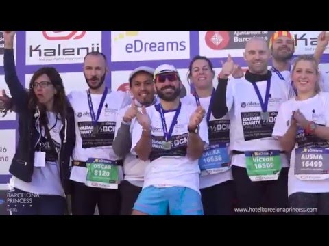 The #BarcelonaPrincessTeam climbed the eDreams Mitja Marató charity podium in Barcelona
