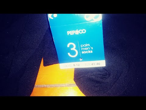 Poundland socks any good? Pep&co 3 pairs mens socks