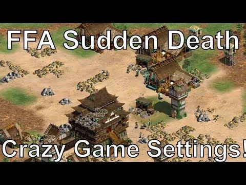 The Weirdest Age of Empires II FFA Sudden Death