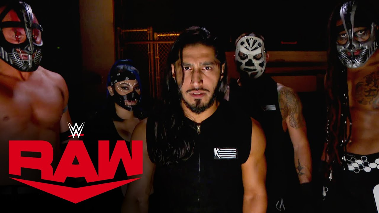 Mustafa Ali & RETRIBUTION vow to shut down WWE: Raw, Oct. 19, 2020