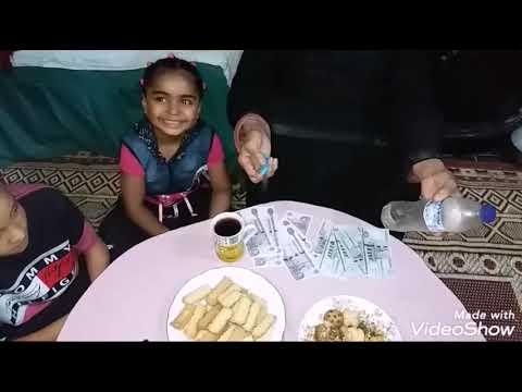 صلينا العيد وحماتي قسمت العيديه شوفوا انا اخدت كام وعيطت في الفيديو اعرفوا السبب وحمو ظهر في الفيديو