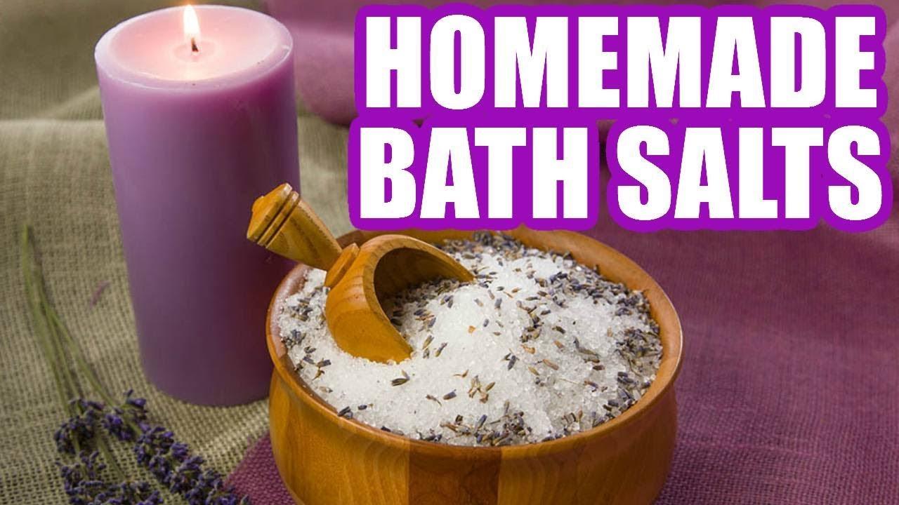 0b1ac088227 How to Make Bath Salts - Homemade Bath Salts Easy Recipe - YouTube