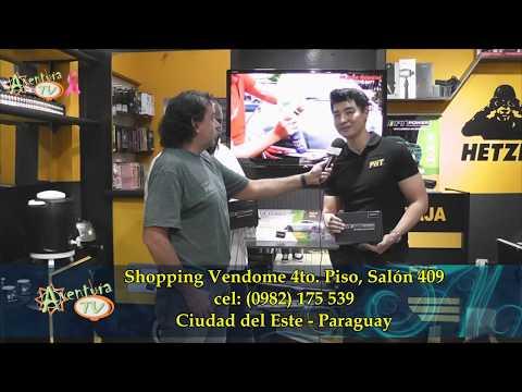 Aventura Tv Paraguay conociendo Shift Power en PNT Tech Store
