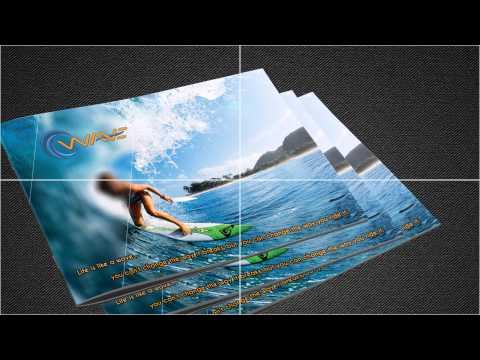 Corporate branding for Wave Ltd.