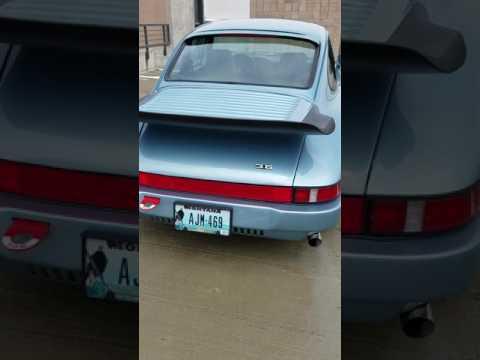 1980 Porsche SC-  idle walk around