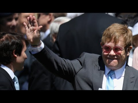Sir Elton John Performs At Ryoal Wedding Reception