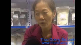 Cô Thủy ăn gạo lứt muối mè cho bệnh tiểu đường - Cửa Hàng Thực Dưỡng Bà Loan
