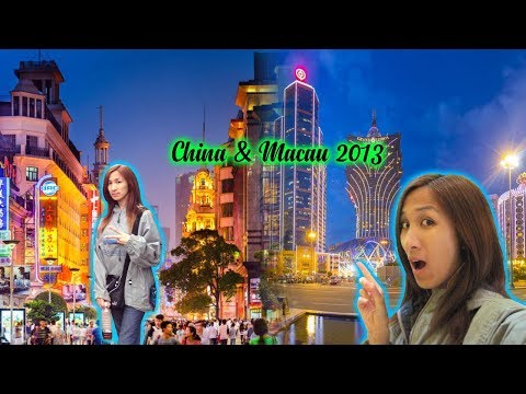 Travel Vlog #4 | China & Macau Adventure w/Rena 2013