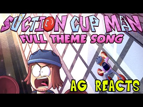 Suction Cup Man Theme Song! Reaction