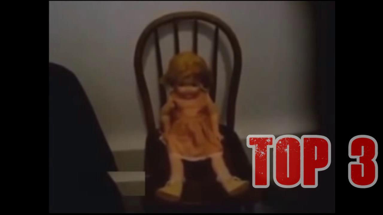 Muñecos Que Se Mueven Solos Videos De Terror 2017 39 Youtube