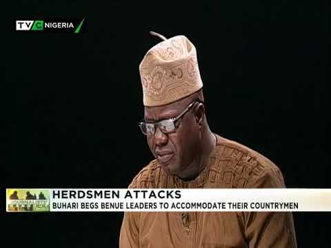 16th Jan. 2018| Journalist Hangout| Herdsmen Attacks|  Buhari begs Benue leaders ...