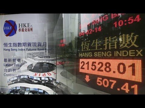 Buruknya Ekonomi Tiongkok Melemahkan Nikkei dan Hang Seng, Vibiznews 24 Agustus 2015
