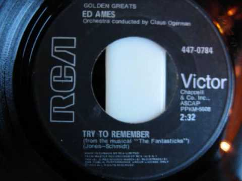 Ed Ames - Try To Remember