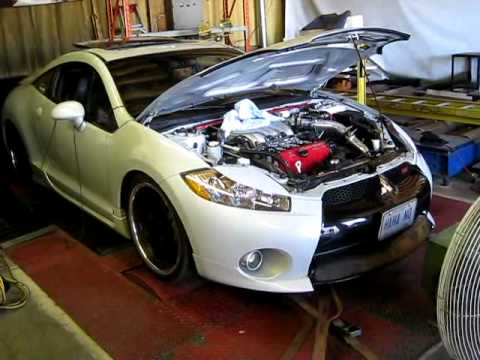 Matts Modded 4g Eclipse GT - Dyno
