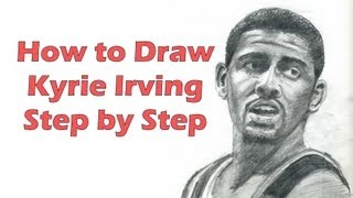 How to Draw Kyrie Irving Step by Step