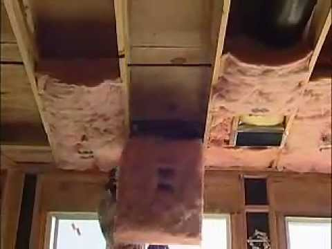 Installing Fibergl Attic Insulation