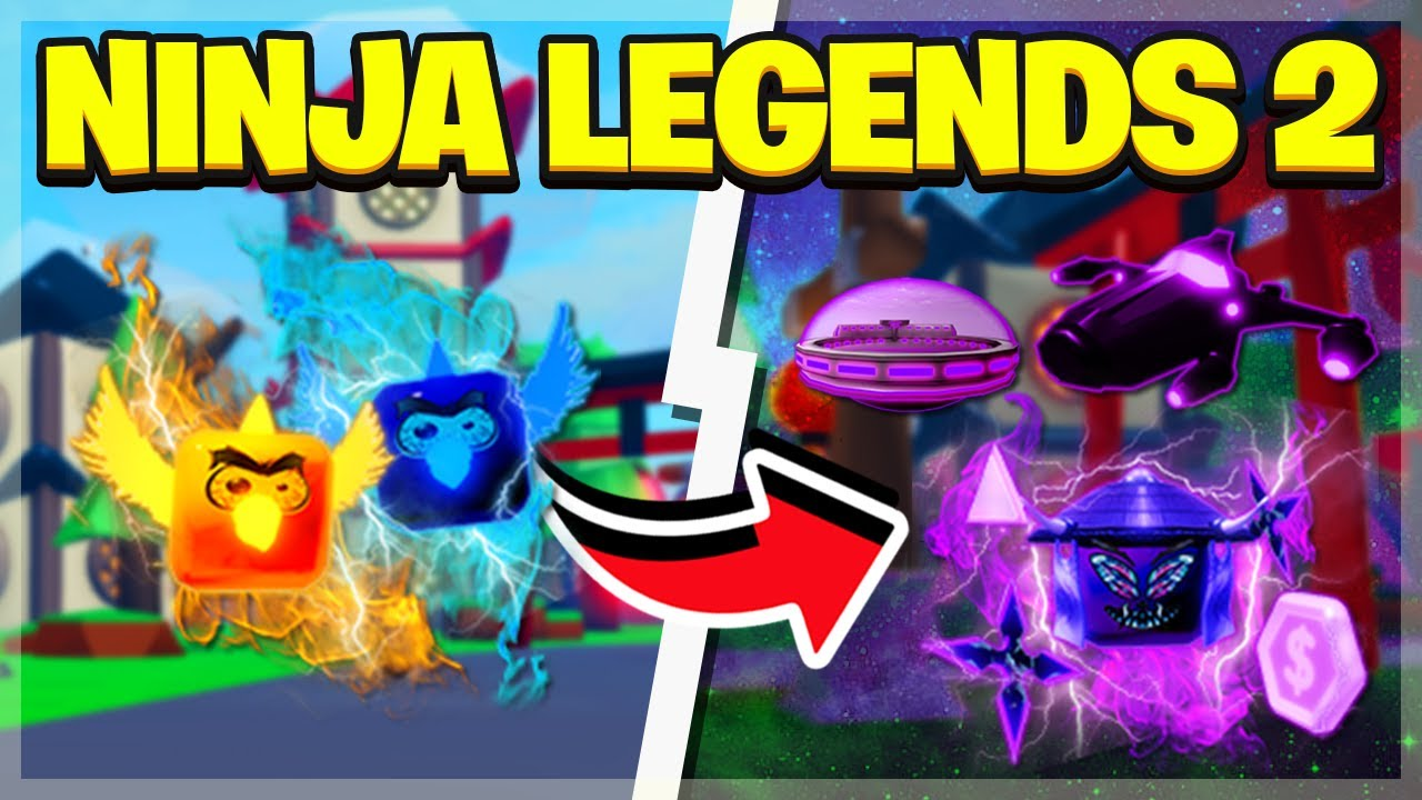 ROBLOX NINJA LEGENDS 2!?!