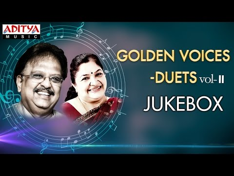 Golden Voices - S.P & Chitra Telugu Hit Songs ►Jukebox Vol-II