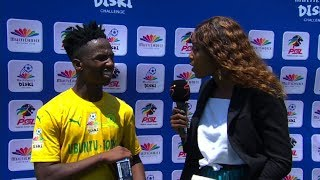 MultiChoice Diski Challenge | Bidvest Wits v Mamelodi Sundowns | Interview with Cassius Mailula