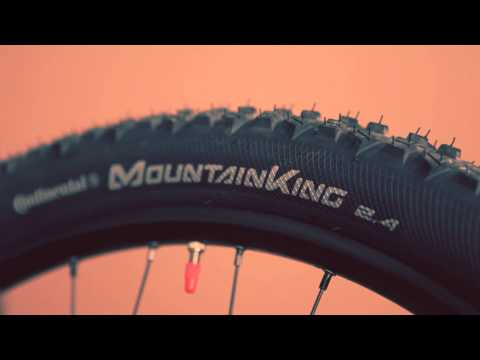 a7136d5dc61 Continental Mountain King II MTB Tyre - YouTube