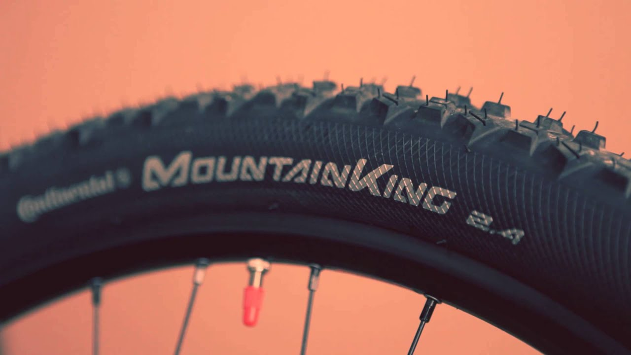 aff05c68f76 Continental Mountain King II MTB Tyre - YouTube