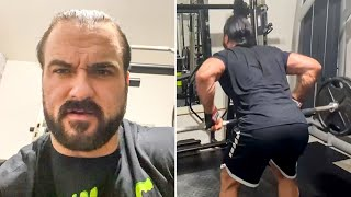 Drew McIntyre s WrestleMania workout WrestleMania Diary