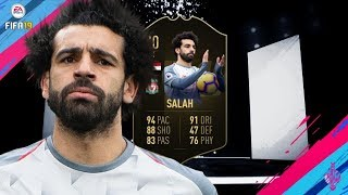 FIFA 19 | (90) TOTW13 MO SALAH PLAYER REVIEW!! | TOTW13 PLAYER REVIEW!!! | FUT19