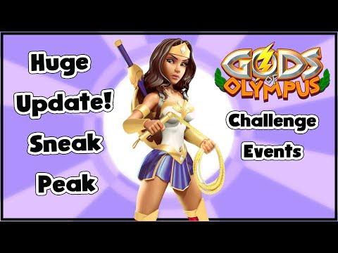 Gods of Olympus | Sneak Peak | Challenge Events