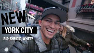 New York City ⎮hanging out with the fam