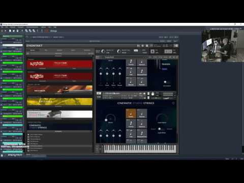 CWVI - Production Music Template ctd #music #livecomposing