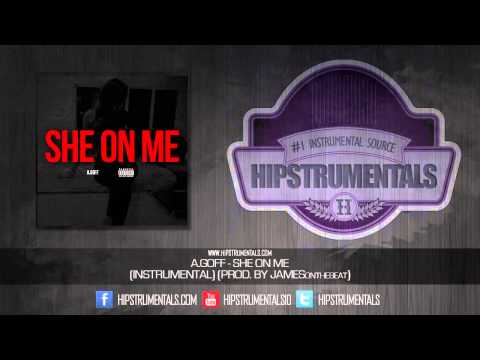 A.Goff - She On Me [Instrumental] (Prod. By JAMESonthebeat) + DOWNLOAD LINK