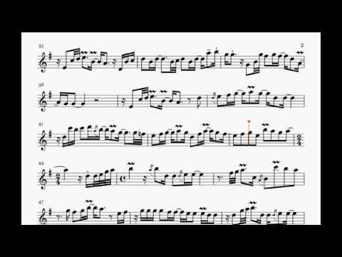 Nothing's Gonna Change My Love For You - Kaori Kobayashi (Saxophone Sheet Music)