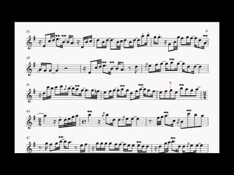 Nothing's Gonna Change My Love For You - Kaori Kobayashi (Saxophone Sheet Music)