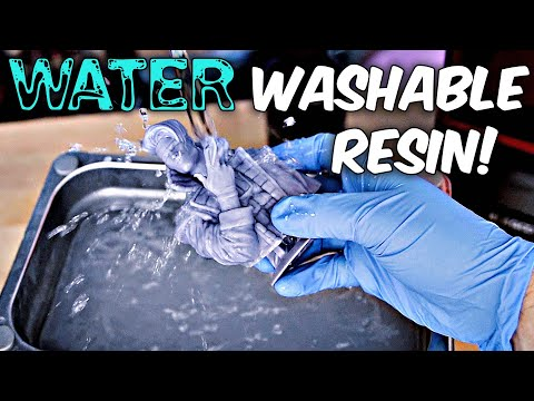 Elegoo Water Washable Resin Review - Elegoo Mars