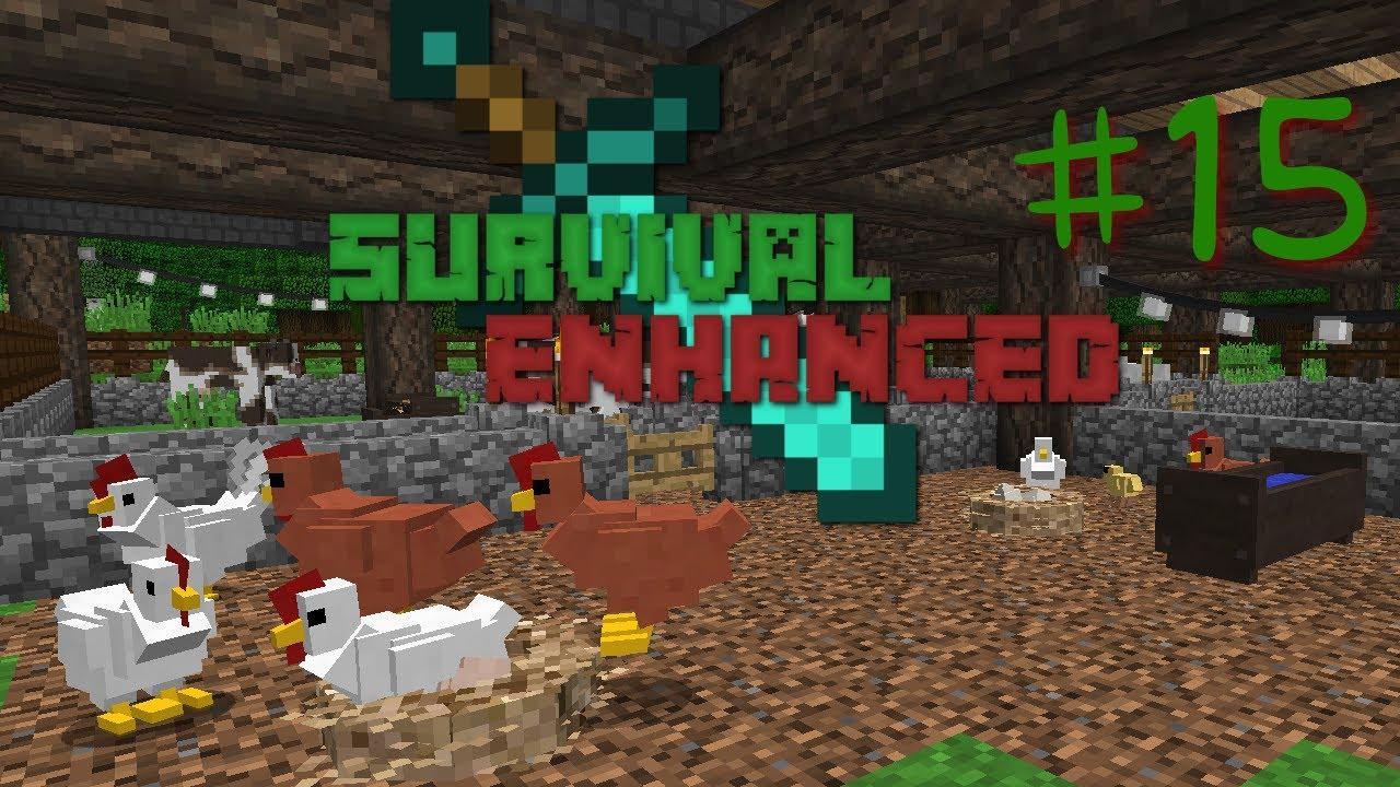 Survival Enhanced - Modded Minecraft Server #15 - Rancher Smelly