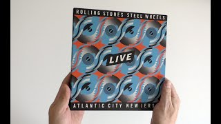 The Rolling Stones / Steel Wheels Live limited edition 6-disc set unboxed