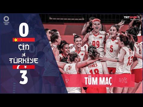 İŞTE O TARİHİ MAÇ! Türkiye 3 - 0 Çin (Maçın Tamamı)   Tokyo 2020 Olimpiyatları