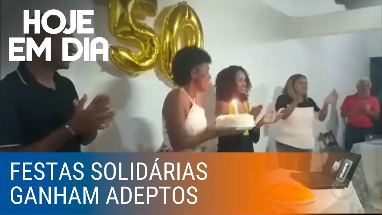 Festas solidárias: convites para doações em vez dos presentes ganham popularidade