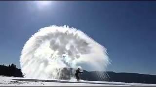 Soğuk Havada Kaynar Su Deneyi