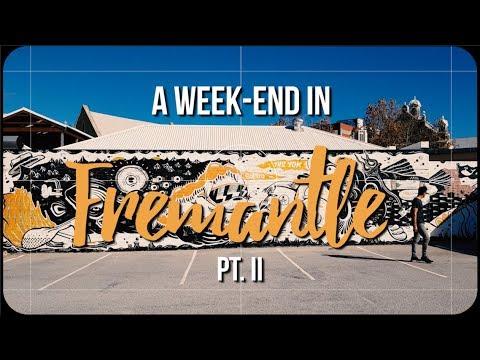Week-end In Fremantle | Part 2 |  Dancing In The Fishing Boat Harbour