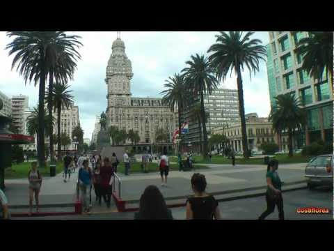 Uruguay - Montevideo,Walking tour - South America Part 29 - Travel Video HD
