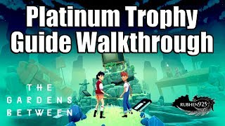 THE GARDENS BETWEEN [PS4 PRO] - Platinum Trophy Guide Walkthrough (Easy 1-2 hr Platinum)